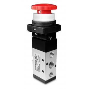 Ручной клапан 5/2 MV522EB Приводы 1/4 дюйма