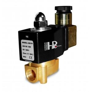 Электромагнитный клапан 2N08 1/4 230V или 24V, 12V Viton - устойчив к воздействию химических веществ