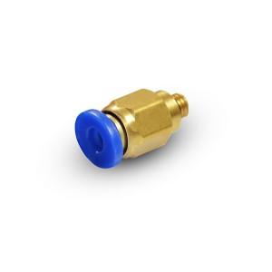 Штекер ниппеля прямой шланг 6 мм резьба M5 PC06-M05