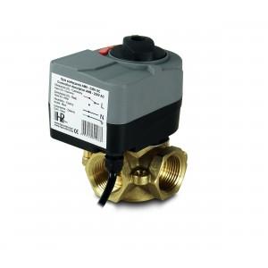 Смесительный клапан 3-полосный 1 1/4 дюйма с электроприводом AM8