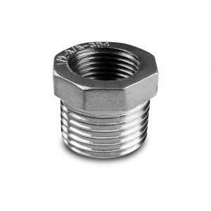 Редукционная нержавеющая сталь 1 1/2 - 1 1/4 дюйма
