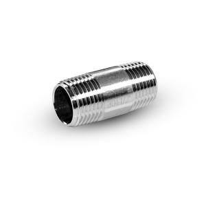 Трубная ниппель из нержавеющей стали 1/4 дюйма 38 мм