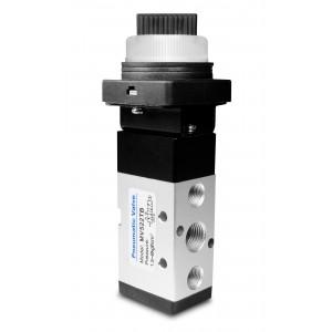 Ручной клапан 5/2 MV522TB Приводы 1/4 дюйма