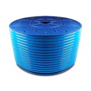 Полиуретановый пневматический шланг PU 6/4 мм 200 м синий