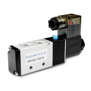 Электромагнитный клапан для пневматических цилиндров 4V210 5/2 1/4 230V 12V 24V