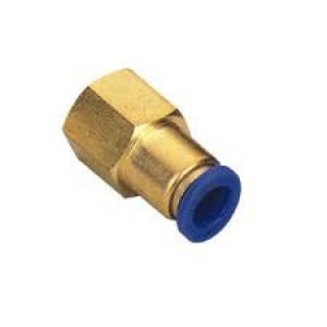 Штепсель шнека ниппеля 6 мм внутренняя резьба 1/4 дюйма PCF06-G02