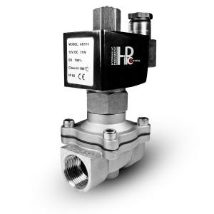 Соленоидный клапан открыт 2N15 NO 1/2 дюймовая нержавеющая сталь SS304 230V или 12V, 24V, 48V