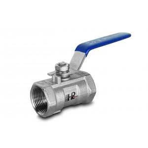 Шаровой кран из нержавеющей стали 3/8 дюйма DN10 с ручным рычагом - 1 шт.