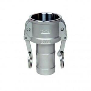 Разъем Camlock - тип C 2 дюйма DN50 SS316