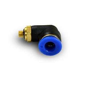 Угловой штекер ниппеля с резьбой 6 мм резьба M5 PL06-M05