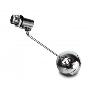 Поплавковый клапан, заправочный клапан из нержавеющей стали DN15 1/2 дюйма