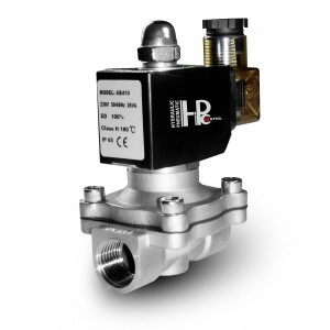 Электромагнитный клапан 2N15 1/2 дюйма нержавеющая сталь SS304 Viton