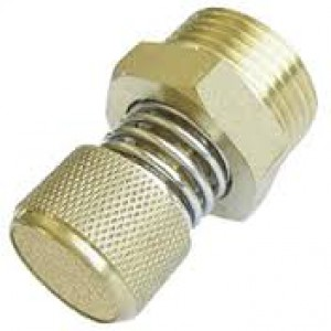 Глушитель выхлопных газов с регулятором потока BESLD 1/4 дюйма