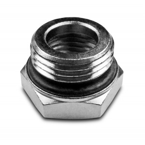Уменьшение 1/2 - 1/4 дюйма с уплотнительным кольцом