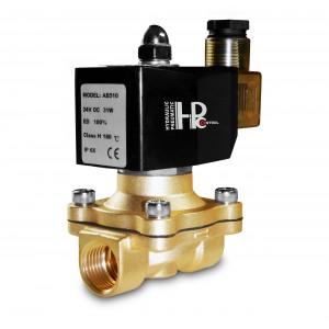 Электромагнитный клапан 2N15 1/2 дюйма FPM Viton + 150C