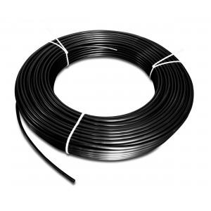 Полиамидный пневматический шланг PA Tekalan 4 / 2,5 мм 1 м черный