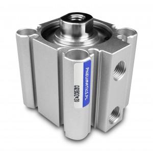 Пневматические цилиндры компактные CQ2 20x20