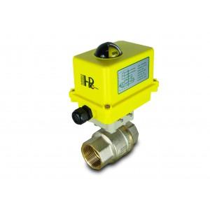 Шаровой кран 1 1/2 дюйма DN40 с электроприводом A250