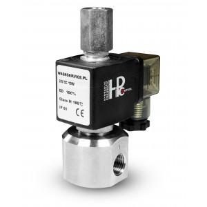 3-ходовой электромагнитный клапан RM23-02 3 x 1/4 дюйма