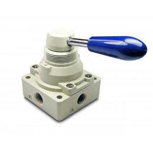Ручной клапан 4/3 4HV230-08 Приводы 1/4 дюйма