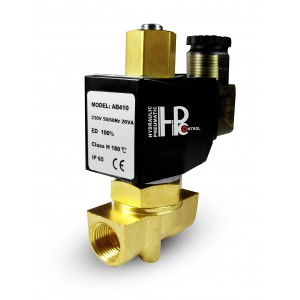 Соленоидный клапан открыт 2N10 NO 3/8 дюйма 0-10 бар 230V 24V 12V 42V 110V