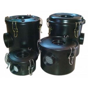 Воздушный фильтр с корпусом для вихревого воздушного насоса 2 1/2 дюйма