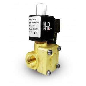 Электромагнитный клапан 2K25 разомкнут NO 1 дюйм 230 В или 12 В 24 В