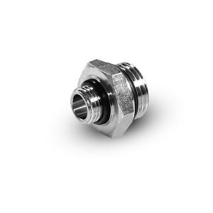 Редукционный ниппель 1/4 - 1/8 дюйма G01-G02 Уплотнительные кольца