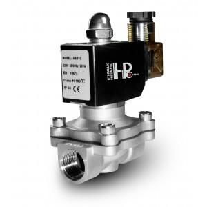 Электромагнитный клапан 2N20 3/4 дюйма нержавеющая сталь ss304 Viton