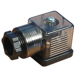 Подключите к электромагнитному клапану 18 мм DIN 43650 со светодиодом