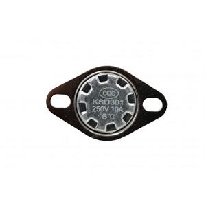 Биметаллический термостат, датчик температуры NC 5 ℃ 10A 230VAC тип KSD301