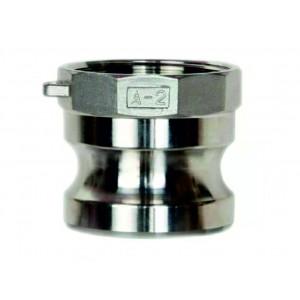 Разъем Camlock - тип A 3/4 дюйма DN20 SS316