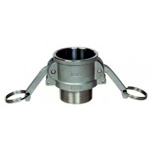 Разъем Camlock - тип B 3/4 дюйма DN20 SS316